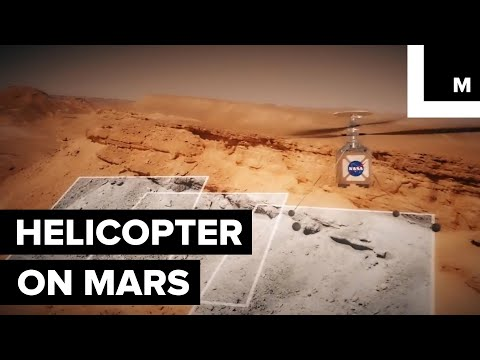 NASA Is Attempting to Fly a Helicopter on Mars for the First Time