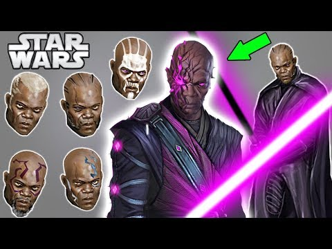 DARK SIDE Mace Windu and New Dark Saber - Star Wars Explained