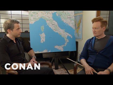 connectYoutube - Conan & Jordan Schlansky Plan Their Trip To Italy  - CONAN on TBS