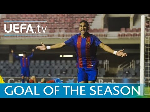 Jordi Mboula - Is this your Goal of the Season? Vote now!