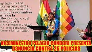 PRESENTAN D3NUNCIA CONTR4 26 POLICÍAS POR VULN3RAR LEY DEL REGIM3N POLICIAL POR LO OCURRIDO EN 2019