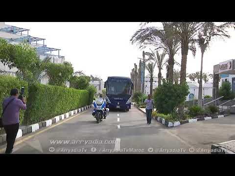 شاهد الحصة التدريبية الأولى  للمنتخب الوطني المغربي