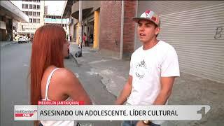 Conmoción por homicidio de un menor de 15 años, líder juvenil y cultural en comuna 13 de Medellín