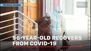 96-Year-Old Karnataka Woman Recovers From COVID-19 - NDTV