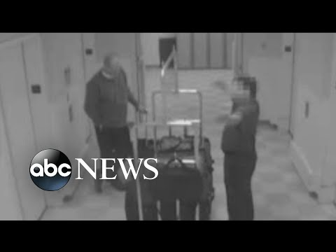 Hotel surveillance video shows Las Vegas gunman days before massacre