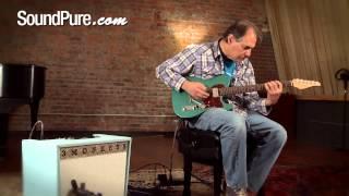Suhr Classic T Sherwood Green Dual Humbucker Electric Guitar Demo