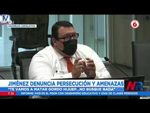 Ministro del MOPT vuelve a ser señalado en comisión que investiga el caso Cochinilla