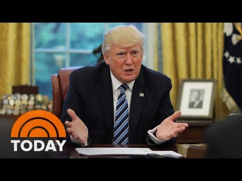 connectYoutube - President Trump Blames Democrats For Government Shutdown | TODAY
