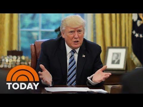 President Trump Blames Democrats For Government Shutdown | TODAY