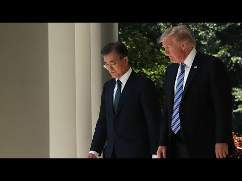 Trump meeting with South Korean counterpart