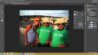 Photoshop CS6 Tutorial - 75 - Adjustment on Part of Your Image