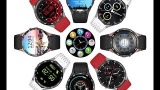 ?KingWear KW88 Review Android Smartwatch Phone!
