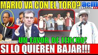 EL TORO PIDE AUDIENCIA, SABE QUE LO QUIEREN BAJAR, Y MARIO DELGADO!!! SABE ESTO AMLO NACHO MIER
