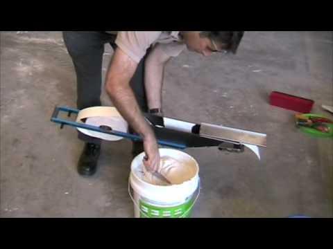 bazooka tapetech par usg france sas enduits sheetrock tomclip. Black Bedroom Furniture Sets. Home Design Ideas