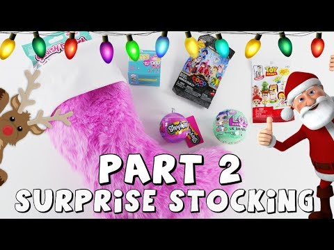 connectYoutube - Toys in Christmas Stocking | Toy Videos by DCTC Amy Jo | Part 2