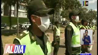 Ministro Arias pidió centro de aislamiento para policías