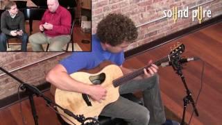 CharterOak M900t Microphones Record Fingerstyle Acoustic Guitar
