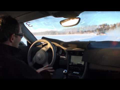 2012 Porsche 911 Snow Test