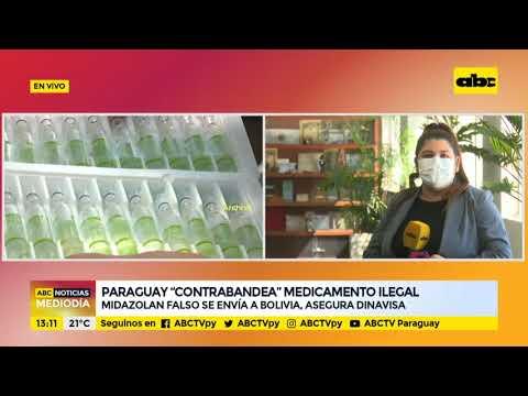 Paraguay contrabandea medicamentos ilegales a Bolivia