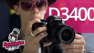Nikon D3400 Hands-on First Impressions Ft. KeyMission 360