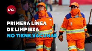 ???? Trabajadores de limpieza exigen ser vacunados contra la COVID