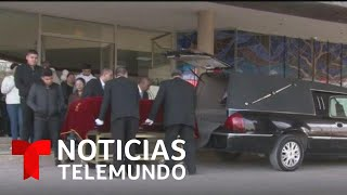 Entre lágrimas y aplausos, despidieron a maestra y alumno víctimas de tiroteo en Torreón, México