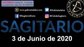 Horóscopo Diario - Sagitario - 3 de Junio de 2020