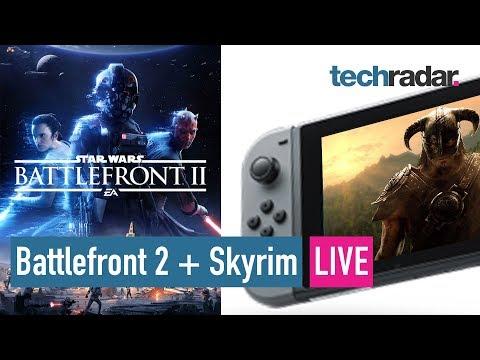 Battlefront 2 | Skyrim comes to Nintendo Switch LIVE