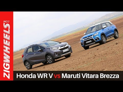 Honda WR-V vs Maruti Vitara Brezza | Zigwheels.com