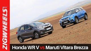 Maruti Vitara Brezza Vs Honda WRV | Zigwheels.com