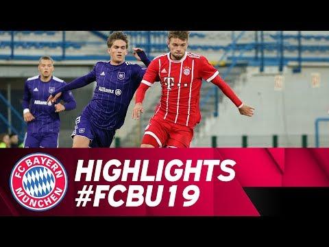 Highlights UEFA Youth League: Ärgerliches Remis für U19 in Anderlecht