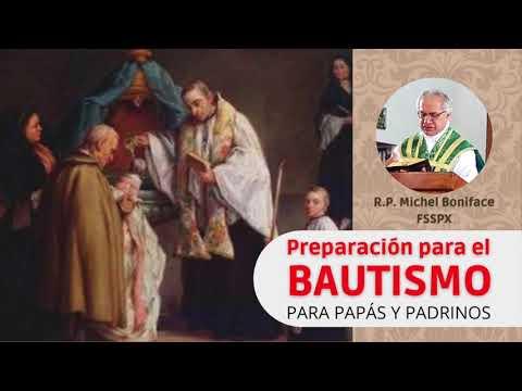 Preparación para el BAUTISTMO | Para papás y padrinos