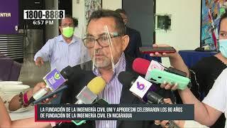Celebran el 80 aniversario de la Ingeniería Civil en Nicaragua
