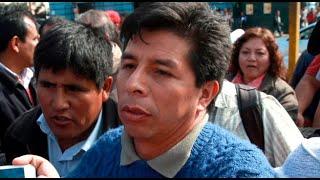 Pedro Castillo, candidato presidencial de Perú Libre, fue diagnosticado con la Covid-19