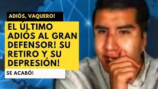 ÚLTIMO ADIÓS AL DEFENSOR DE LA VERDAD! CARMONA ABANDONÓ YOUTUBE! CULPA A ALFARO Y CAE EN DEPRESIÓN!