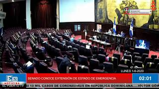 SENADO CONOCE EXTENSIÓN DE 12 DÍAS AL ESTADO DE EMERGENCIA