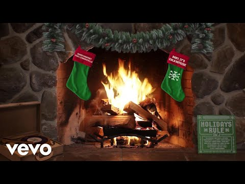 connectYoutube - Barns Courtney - Baby, It's Cold Outside (Yule Log Audio) ft. Lennon Stella