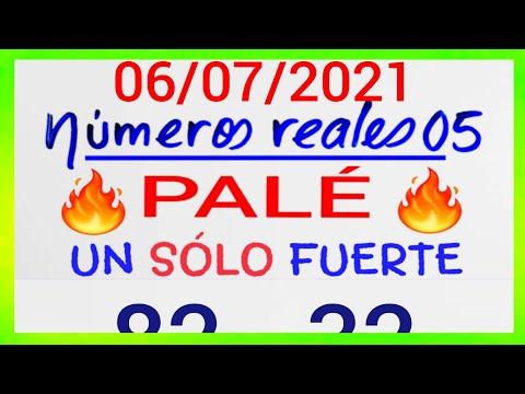 NÚMEROS PARA HOY 06/07/21 DE JULIO PARA TODAS LAS LOTERÍAS....!! Números reales 05 para hoy....!!