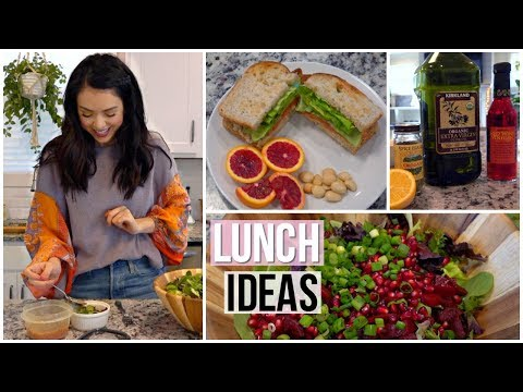 connectYoutube - 3 Healthy Lunch Ideas! Easy & Fast!