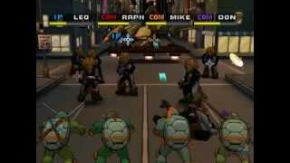 TMNT 3: Mutant Nightmare Прохождение: Эпизод 4