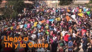 Descontrol en el Carnaval en Tilcara: una multitud festejó sin distanciamiento social ni barbijos