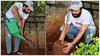 Actor Vishwak Sen Accepts Rahul Sipligunj's Green India Challenge - Telugu Film News   TFPC - TFPC