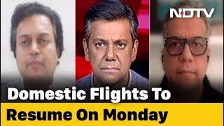Maharashtra vs Centre On Resuming Flights From Monday - NDTV