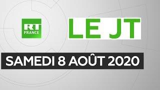 Le JT de RT France – Samedi 8 août 2020 : Liban, Covid-19, Maurice