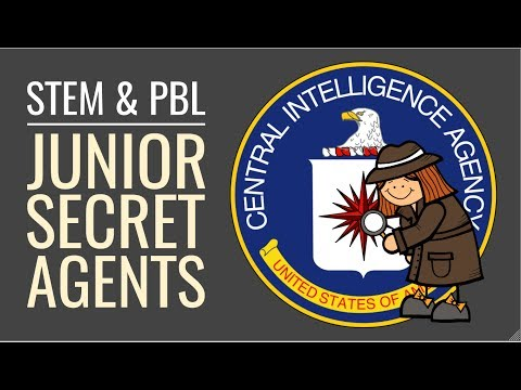 Junior Secret Agent School Project - PBL and STEM