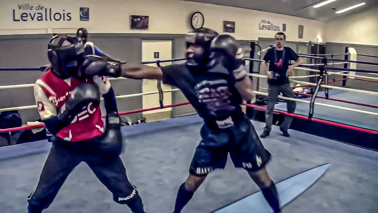 Boxe Sparring M'BAYE / PICORD / BELLONIE / GALLAS