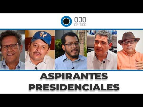 Precandidatos presidenciales y casillas |  Elecciones Nicaragua 2021