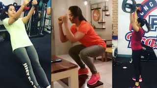 Bigg Boss 4 Wild Card Entry Swathi Deekshith Gym Workout Video | Telugu Actress Gym Videos | TFPC - TFPC