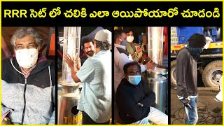 RRR Movie Mid Night Shoots In Winter | Jr.NTR | SS Rajamouli | Rajshri Telugu - RAJSHRITELUGU