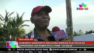 Gobierno Sandinista inaugura energía eléctrica en Las Nubes en El Tuma – La Dalia